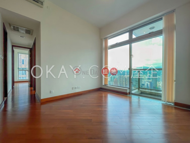 Gorgeous 3 bedroom on high floor with balcony | Rental | The Hermitage Tower 3 帝峰‧皇殿3座 Rental Listings