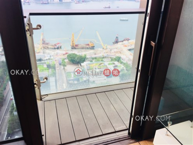 Nicely kept 2 bed on high floor with harbour views | For Sale | The Gloucester 尚匯 Sales Listings
