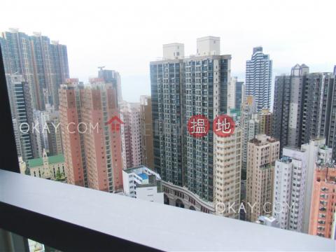 Lovely 1 bedroom on high floor with balcony | Rental|Resiglow Pokfulam(Resiglow Pokfulam)Rental Listings (OKAY-R378671)_0