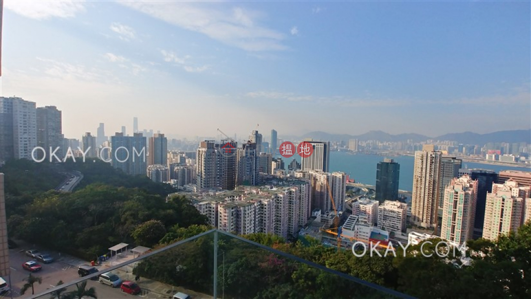 HK$ 59,000/ month | Kingsford Gardens | Eastern District Efficient 3 bedroom with sea views, balcony | Rental