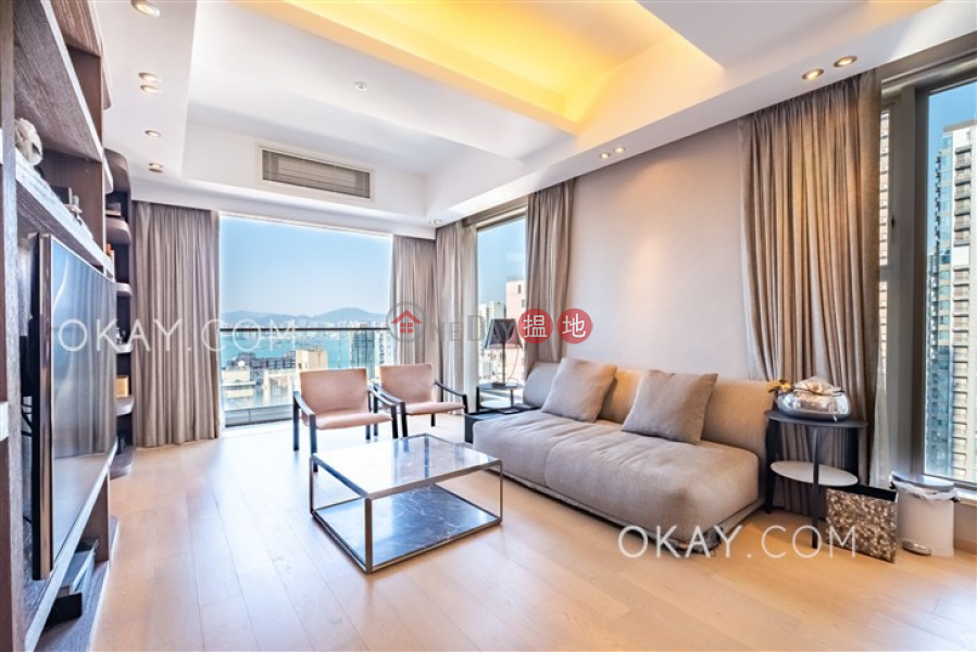 Luxurious 3 bed on high floor with balcony & parking | For Sale | The Summa 高士台 Sales Listings