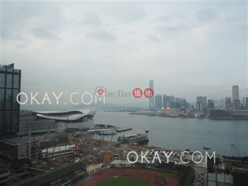 HK$ 24.8M, The Gloucester Wan Chai District, Nicely kept 1 bedroom on high floor with balcony | For Sale
