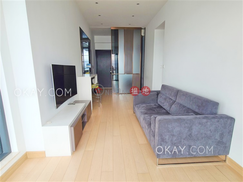 HK$ 38,500/ month, Upton, Western District, Rare 2 bedroom with sea views & balcony | Rental