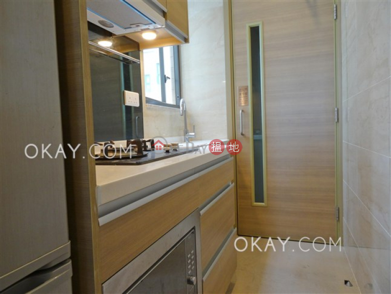 Cozy 3 bedroom on high floor with sea views & balcony | Rental 18 Catchick Street | Western District Hong Kong, Rental HK$ 29,500/ month