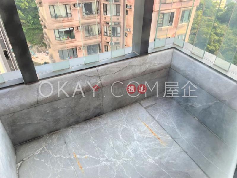 Tasteful 2 bed on high floor with sea views & balcony | Rental 9 Warren Street | Wan Chai District Hong Kong, Rental, HK$ 35,000/ month