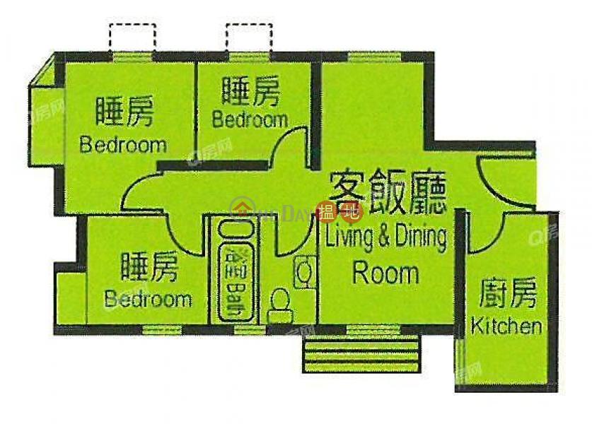 杏花邨17座高層 住宅-出租樓盤HK$ 22,000/ 月