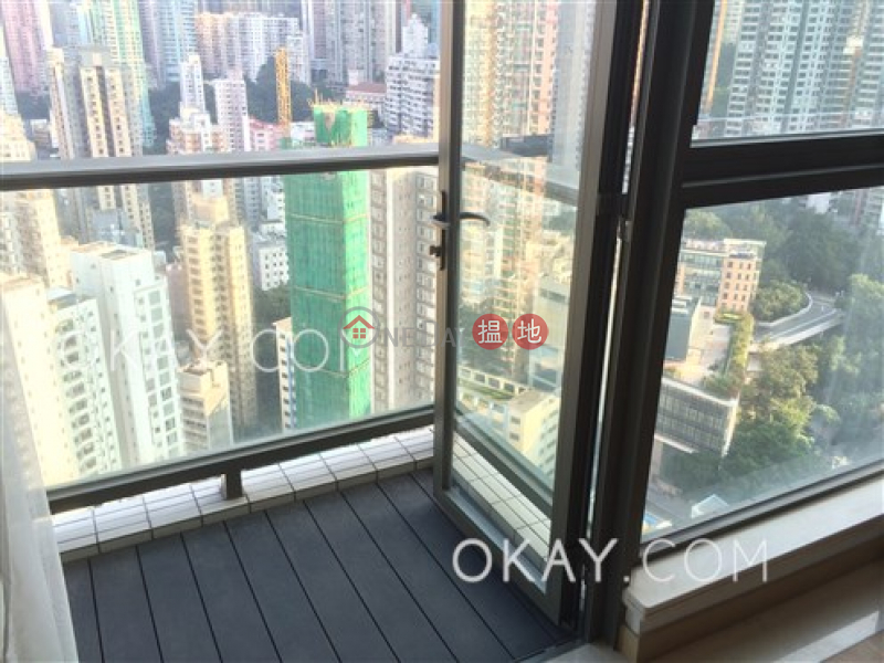 Stylish 3 bedroom on high floor with balcony | For Sale, 189 Queen Road West | Western District | Hong Kong Sales HK$ 24M