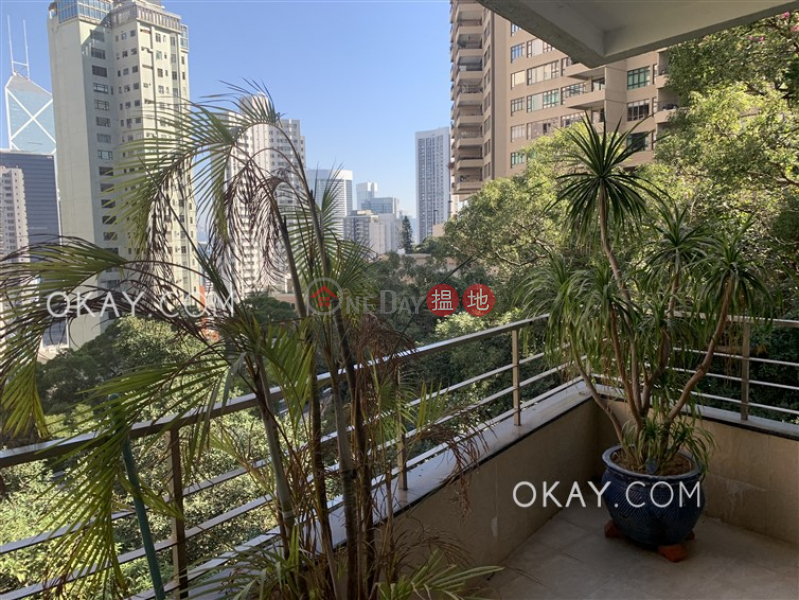 Luxurious 4 bedroom with balcony & parking | Rental | Brewin Court 明雅園 Rental Listings