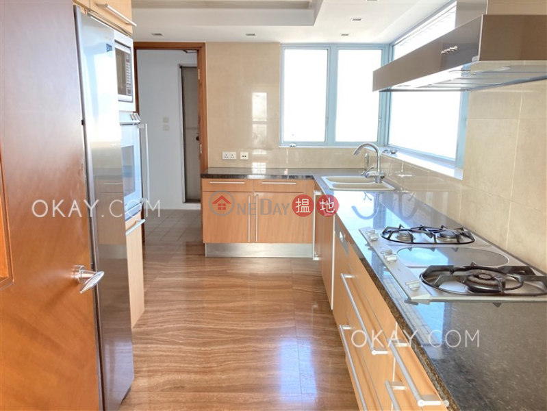 Stylish 4 bedroom on high floor with balcony & parking | Rental | 15 Ho Man Tin Hill Road | Kowloon City | Hong Kong, Rental HK$ 90,000/ month