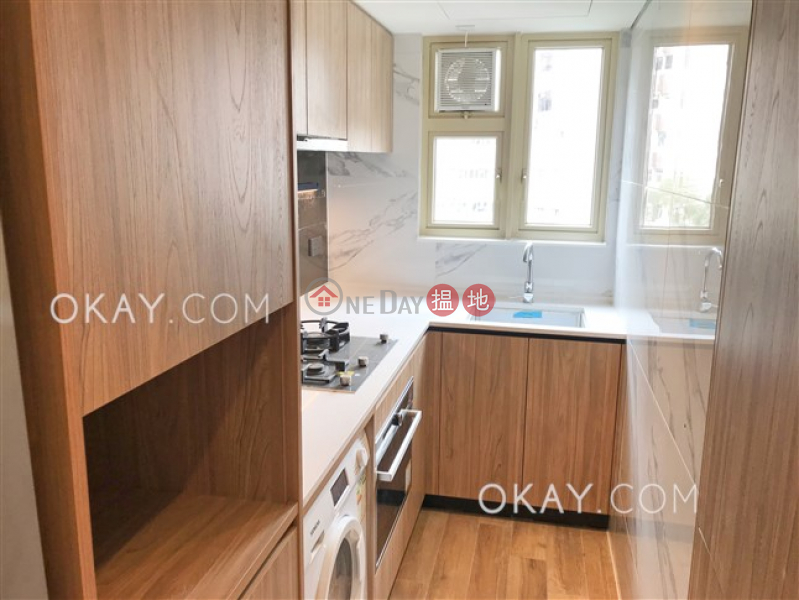 HK$ 41,000/ month | St. Joan Court | Central District, Luxurious 1 bedroom with balcony & parking | Rental