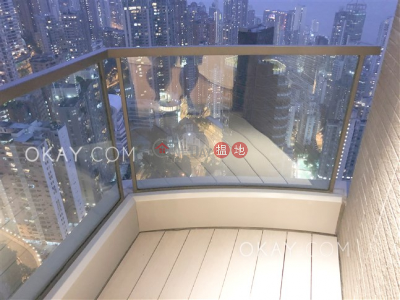 Lovely 3 bedroom on high floor with balcony | For Sale | 33 Seymour Road | Western District Hong Kong Sales, HK$ 39M