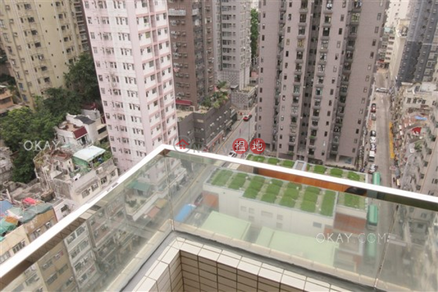 HK$ 29,900/ month, Elite Court Western District Intimate 3 bedroom on high floor with balcony | Rental