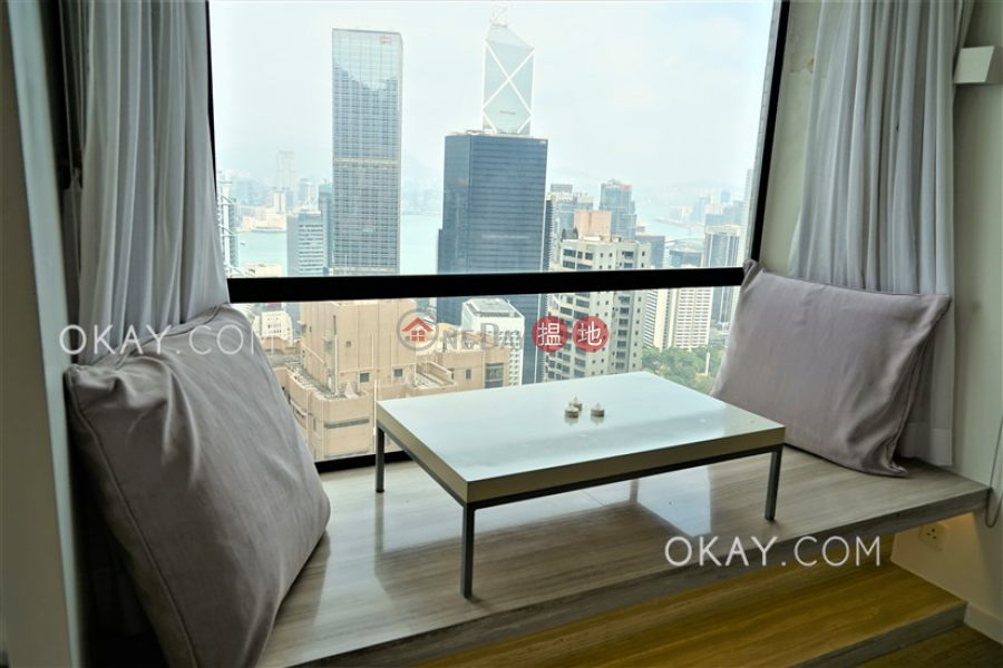 Property Search Hong Kong | OneDay | Residential Rental Listings, Exquisite 1 bed on high floor with sea views & rooftop | Rental