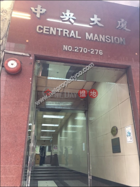 Shop for Rent in Sheung Wan Western DistrictCentral Mansion(Central Mansion)Rental Listings (A035836)_0