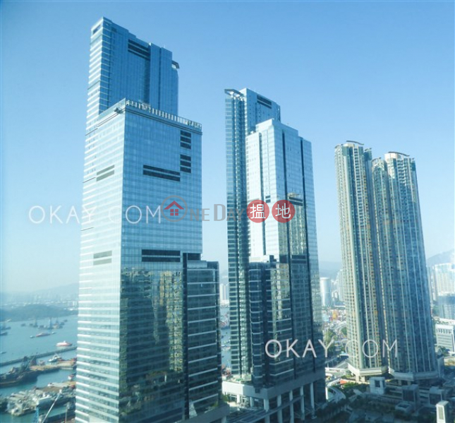 Rare 3 bedroom on high floor with balcony & parking | Rental | The Harbourside Tower 1 君臨天下1座 Rental Listings