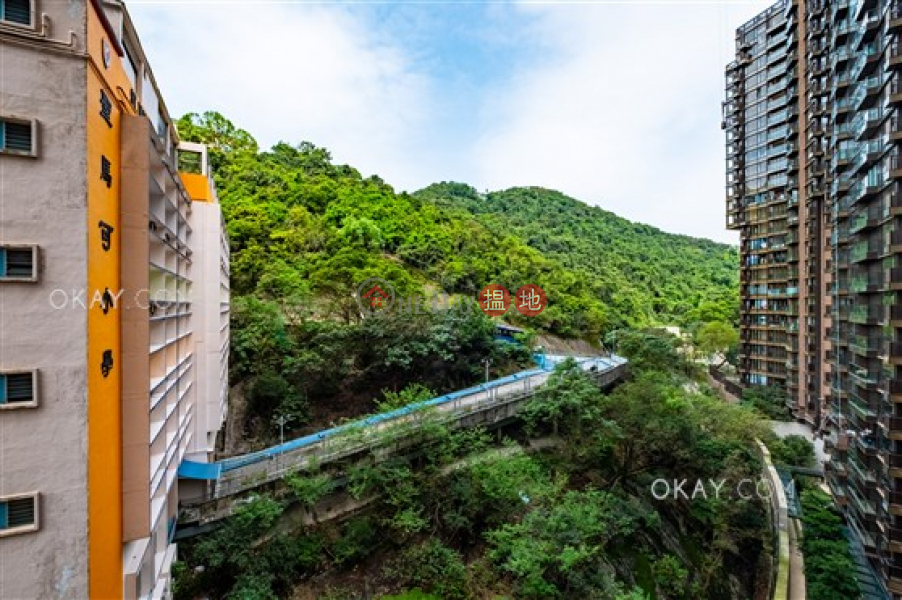 2房1廁,星級會所,露台《新翠花園 1座出租單位》 新翠花園 1座(Block 1 New Jade Garden)出租樓盤 (OKAY-R316624)