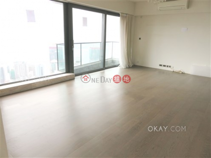 HK$ 103,000/ month | Azura, Western District, Exquisite 3 bed on high floor with balcony & parking | Rental