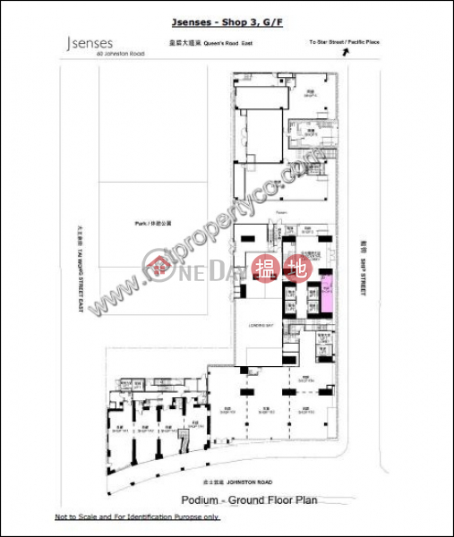 Shop for Lease in Wan Chai, J Residence 嘉薈軒 Rental Listings | Wan Chai District (A053992)