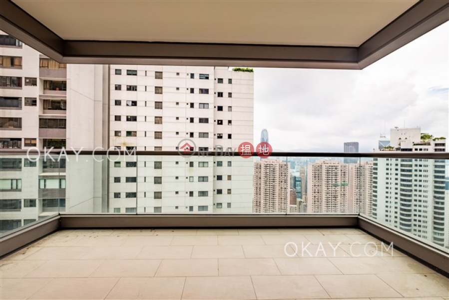 Rare 3 bedroom with harbour views, balcony | Rental | Branksome Grande 蘭心閣 Rental Listings
