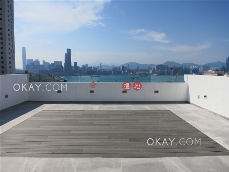 Stylish 2 bed on high floor with harbour views | Rental | Kingston Building Block B 京士頓大廈 B座 Rental Listings
