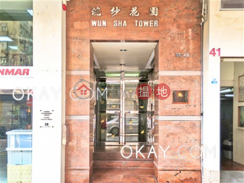 Nicely kept 2 bedroom in Tai Hang | For Sale|Wun Sha Tower(Wun Sha Tower)Sales Listings (OKAY-S286427)_0