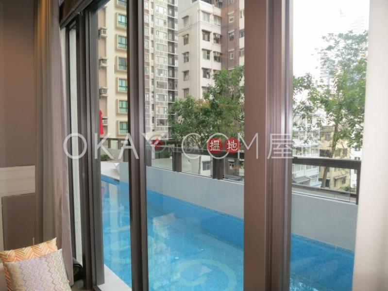 Intimate 1 bedroom on high floor with balcony   Rental   The Pierre NO.1加冕臺 Rental Listings