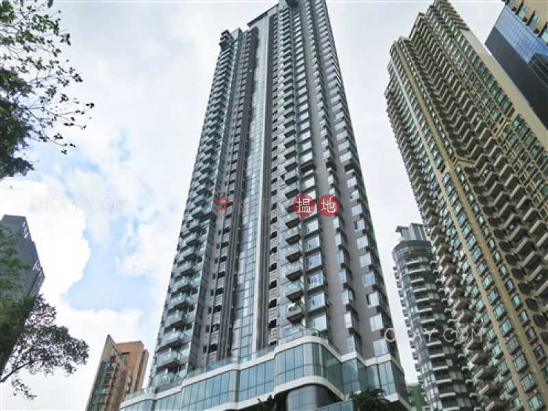 Practical 1 bedroom on high floor with balcony | Rental 1 Wan Chai Road | Wan Chai District, Hong Kong | Rental HK$ 28,000/ month
