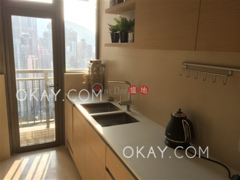 HK$ 24M SOHO 189, Western District, Stylish 3 bedroom on high floor with balcony | For Sale