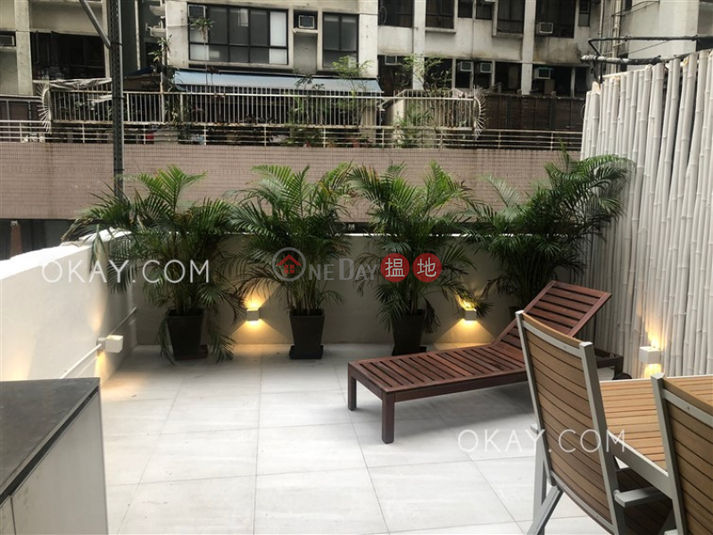 Rare 1 bedroom with terrace | Rental, Ka On Building 嘉安大廈 Rental Listings | Western District (OKAY-R370162)
