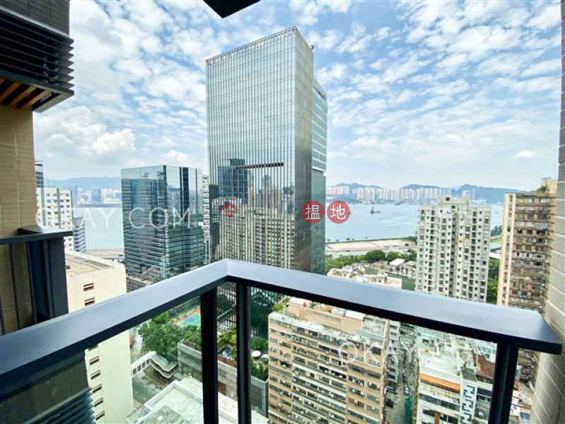 Unique 1 bedroom with sea views & balcony | For Sale | Novum East 君豪峰 Sales Listings