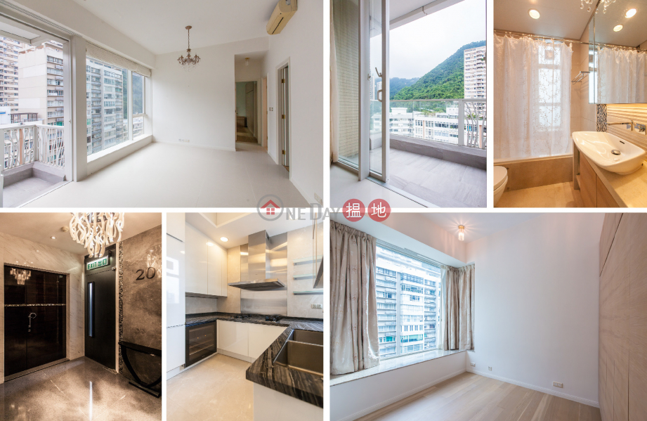 Property Search Hong Kong   OneDay   Residential Rental Listings 3 Bedroom Family Flat for Rent in Mid Levels West