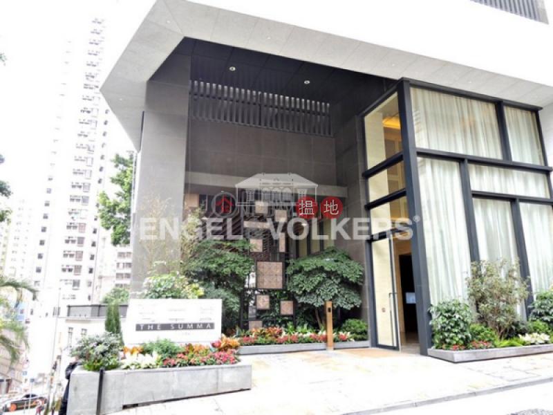 Studio Flat for Rent in Sai Ying Pun, The Summa 高士台 Rental Listings | Western District (EVHK43246)