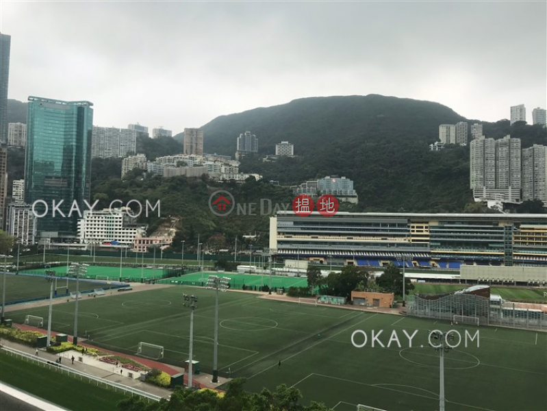 HK$ 30M, Race Course Mansion Wan Chai District Stylish 1 bedroom on high floor with balcony   For Sale