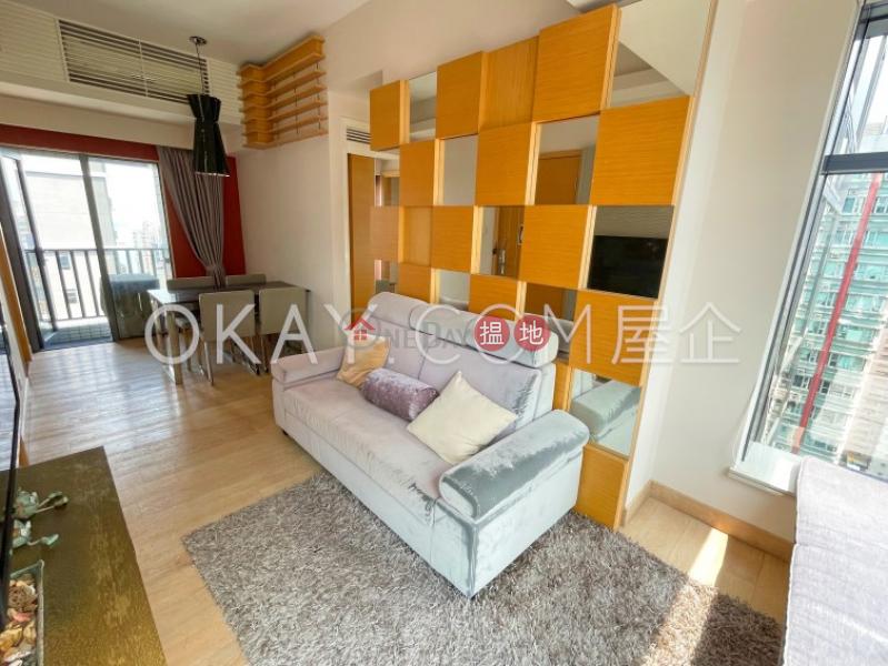 Nicely kept 3 bedroom on high floor with balcony | Rental 99 High Street | Western District Hong Kong Rental | HK$ 35,000/ month