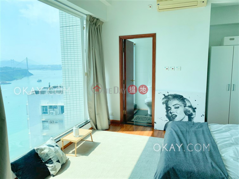 Gorgeous 4 bed on high floor with sea views & balcony | Rental | One Kowloon Peak 壹號九龍山頂 Rental Listings