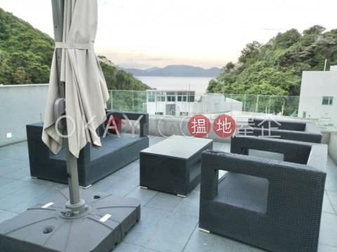 Charming house with sea views, rooftop & balcony | Rental|91 Ha Yeung Village(91 Ha Yeung Village)Rental Listings (OKAY-R368732)_0