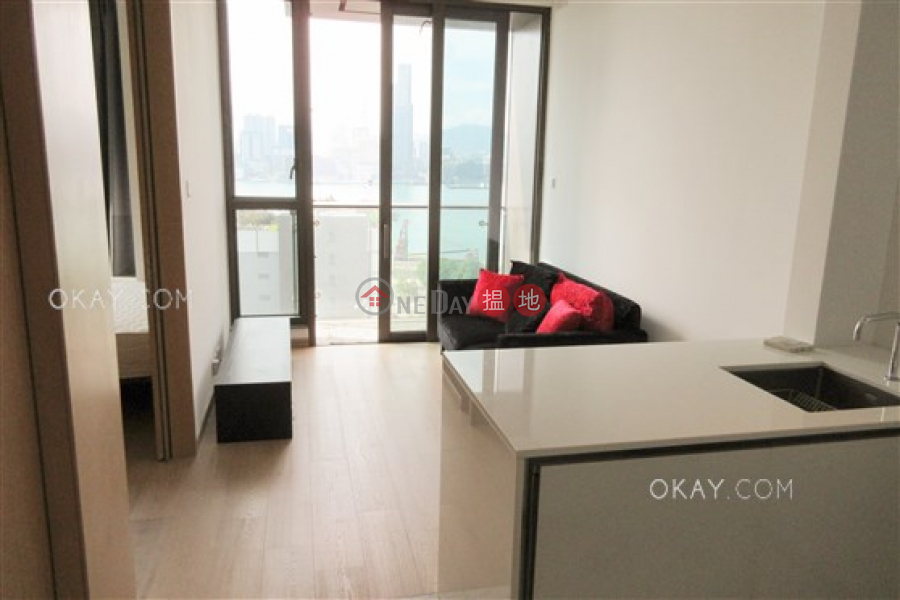 Lovely 1 bedroom with balcony | Rental, The Gloucester 尚匯 Rental Listings | Wan Chai District (OKAY-R99443)