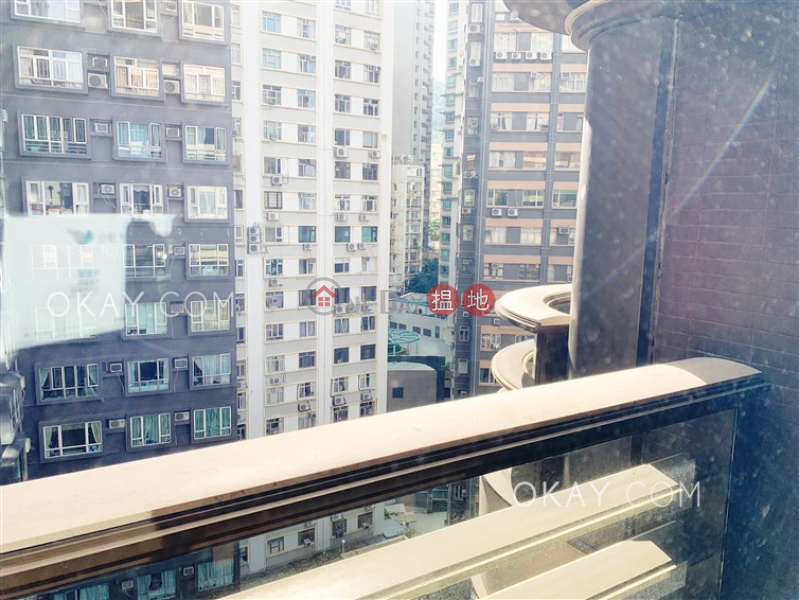 HK$ 34,500/ month, Castle One By V | Western District, Elegant 2 bedroom on high floor with balcony | Rental
