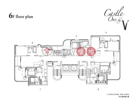 西半山兩房一廳筍盤出租|住宅單位|CASTLE ONE BY V(Castle One By V)出租樓盤 (EVHK42303)_0