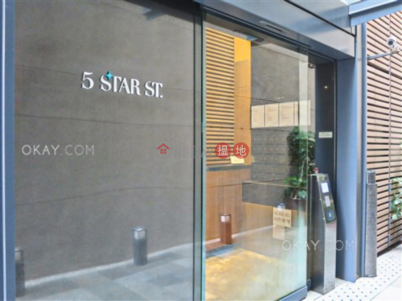 HK$ 25,000/ month | 5 Star Street Wan Chai District | Generous studio with balcony | Rental
