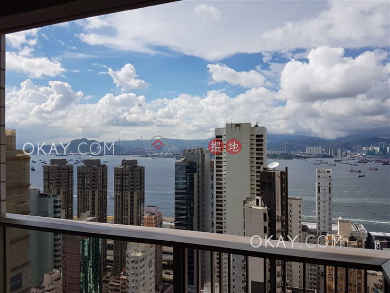 Gorgeous 2 bedroom on high floor with balcony | Rental | Island Crest Tower 1 縉城峰1座 Rental Listings