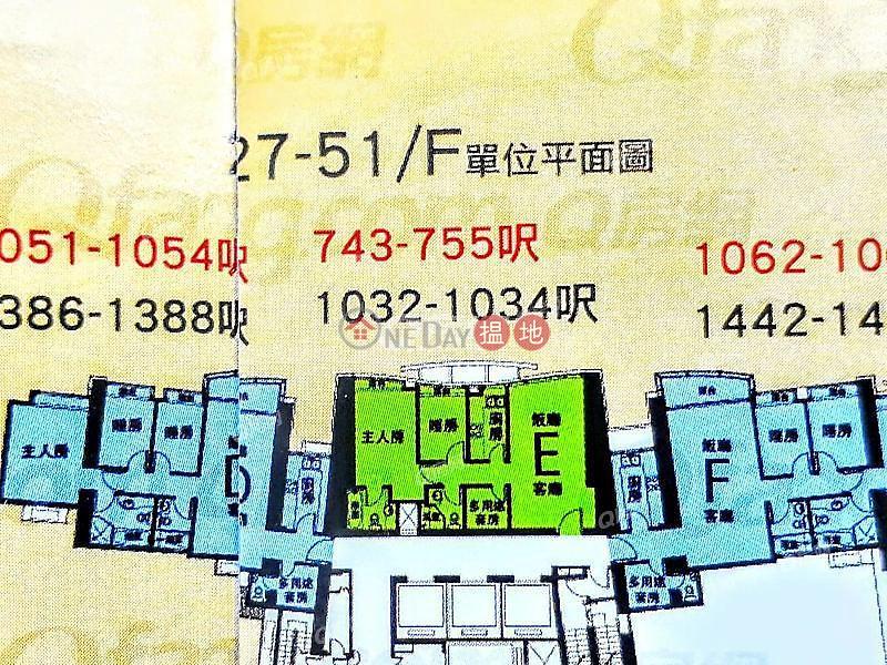 HK$ 36,000/ month The Harbourside Tower 2, Yau Tsim Mong   The Harbourside Tower 2   2 bedroom Mid Floor Flat for Rent
