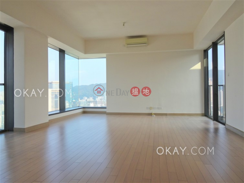 Luxurious 3 bed on high floor with harbour views | Rental | 28 Wood Road | Wan Chai District | Hong Kong | Rental, HK$ 88,000/ month