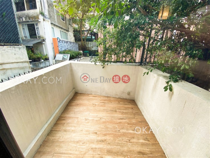 Stylish 1 bedroom with terrace | Rental, 34-36 Gage Street 結志街34-36號 Rental Listings | Central District (OKAY-R368969)