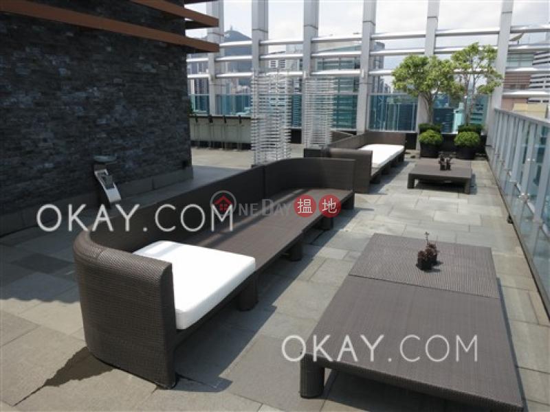 1房1廁,極高層,露台嘉薈軒出租單位|嘉薈軒(J Residence)出租樓盤 (OKAY-R64970)