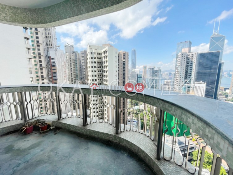 Efficient 4 bedroom with sea views & balcony | Rental 36 MacDonnell Road | Central District, Hong Kong | Rental | HK$ 200,000/ month