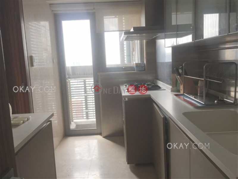Property Search Hong Kong | OneDay | Residential Sales Listings | Stylish 3 bedroom on high floor with balcony & parking | For Sale