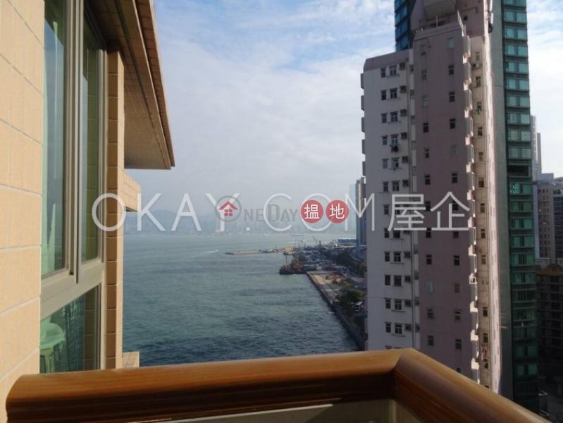 Practical 2 bedroom with harbour views & balcony   Rental, 38 New Praya Kennedy Town   Western District Hong Kong   Rental HK$ 26,000/ month
