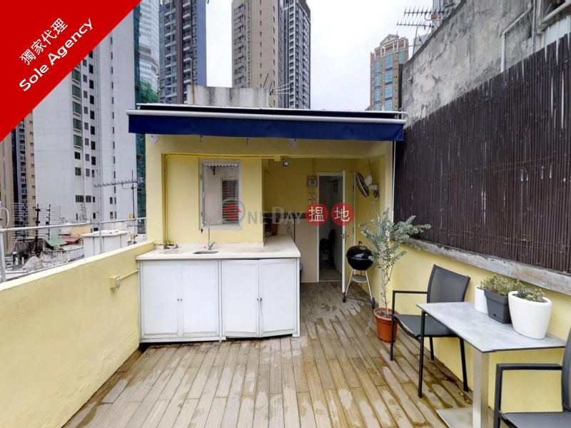 Studio Flat for Rent in Soho, 7 Mee Lun Street 美輪街7號 Rental Listings | Central District (EVHK100805)