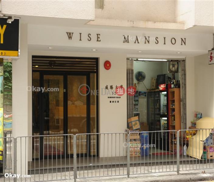 HK$ 25,000/ 月威勝大廈-西區1房1廁,實用率高,連租約發售,露台《威勝大廈出租單位》